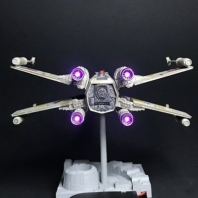 *LIGHTING KIT ONLY* for Bandai Star Wars 1/72 X-Wing Starfighter (Luke's)
