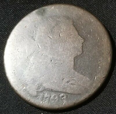 1798 Draped Bust Large Cent Nice Coin For Your Collection