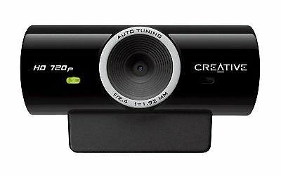Creative HD 720P Webcam Cam Sync with Built in microphone