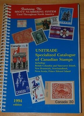 Weeda Literature: Unitrade Specialized Catalogue, 1994 edition, VF