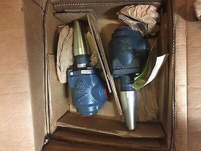 2 Hansen 1-1/2 And Larger Shut- Off Welding Valves