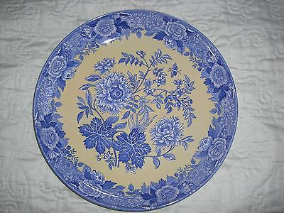 Spode Blue Room Garden Collection Jasmine Large Dish Deep Plate - New