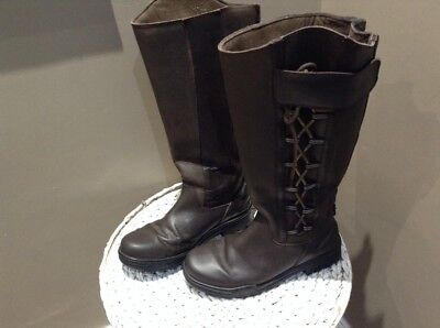 gateley country yard walking brown boot - wide calf size 7