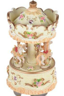Musical Carousel, Horse Merry Go Round, New, Quality Birthday Present or Gift