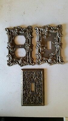 Vintage American Tack & Hardware switch plates