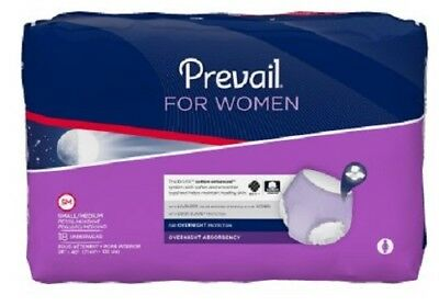 Prevail for Women Overnight Underwear - Small/Medium (Pack of 18) PWX512