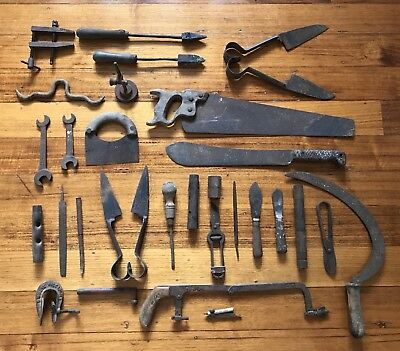 Old Tools. 35 Pieces. Sold Together.
