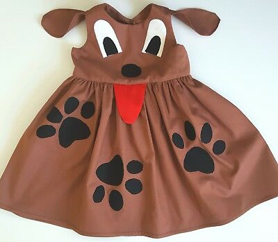 Wags the dog dress, wiggles wags the dog costume -Size 3