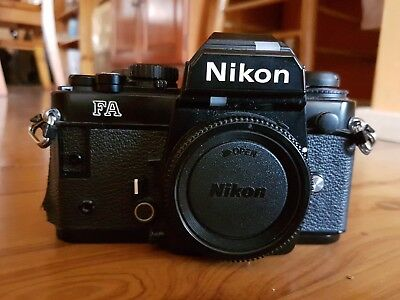 Nikon FA 35mm Film Camera - Great working condition