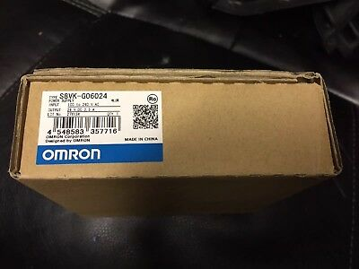 OMRON DC Power Supply,24VDC,2.5A,50/60Hz, S8VK-G06024 NEW IN BOX