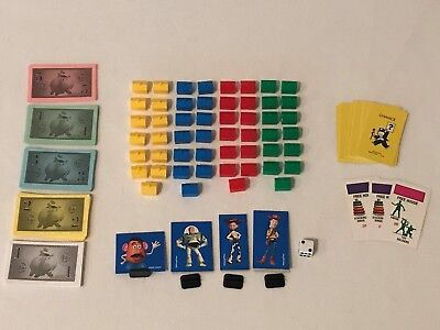 Monopoly Junior Spare Replacement Pieces Houses Cars Money Choose from List