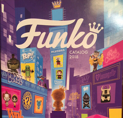 FUNKO POP 2018 Catalog Toy Fair Chase Dorbz Rock Candy Marvel DC Comic Heroes TP