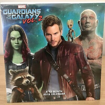 Guardians Of The Galaxy Calendar 2018 - 18 Month - Marvel