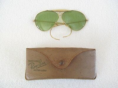 Vintage Bausch & Lomb Ray-Ban Shooting Glasses and Original Case