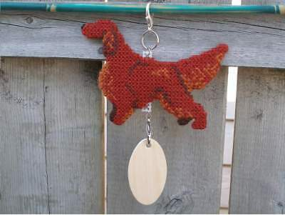 Irish Setter dog crate tag or hang anywhere handmade pet sign any day ornament
