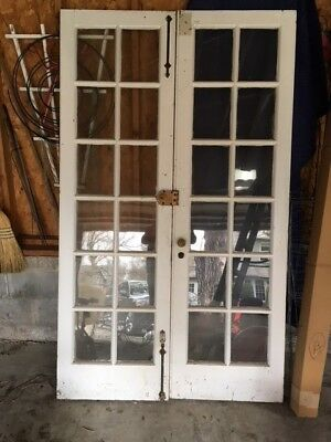 1925 French doors 81.25 x 48""