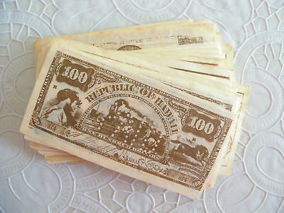 1975 Rainbo Bread Collectible History Replica EARLY AMERICAN MONEY 100 Complete