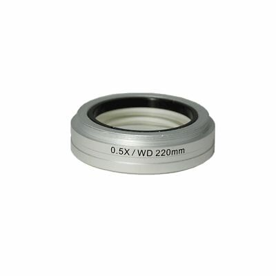 0.5X Auxiliary Objective Barlow Lens for SZ0901 Zoom Stereo Microscope (55mm)