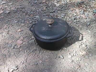 cast iron dutch oven sporting goods camping hiking cooking supplies equipment ??