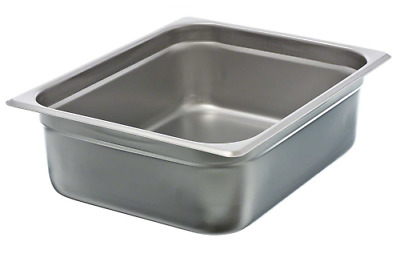 "Update International (NJP-504) 4"" Half-Size Anti-Jam Steam Table Pan"