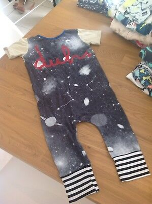 Rags To Raches Romper- Size 3/4- EEUC- Can Combine Postage