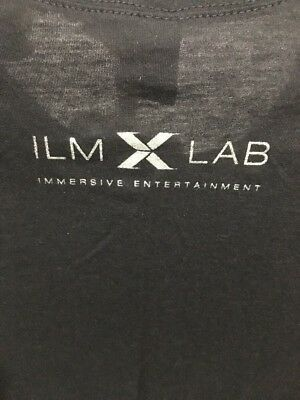 """Sz L New Industrial Light And Magic Lucas Disney ILM Lab Tee PittoPit Approx 17"""""""
