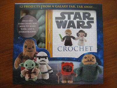 Star Wars Crochet Set  Brand New (12 Step By Step Patterns) Lucy Collin