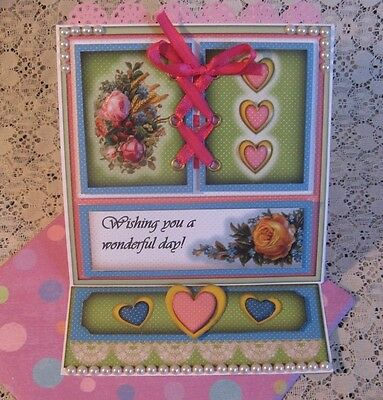 Easel Greeting Card All-Occasion #8 Handmade Premade by CHRIS