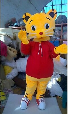 Daniel Tiger Costume- Mascot- Childrens Party- Adult- Fits size 5'9'' to 6'2''