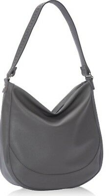 Thirty One Thirty-One Midway Hobo Purse Handbag City Charcoal Pebble NEW