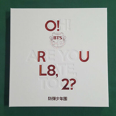 [Pre-Owned/ No Photocard] BTS O! RUL8, 2? 1st Mini Album  - CD/ Booklet