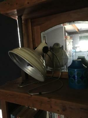 """Vintage Large Industrial Lamp Infra Red/ Heat Lamp """"pifco""""  Working Collectable"""