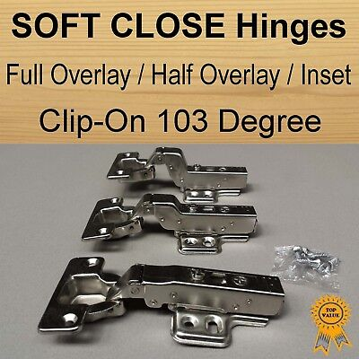 Door Kitchen Cabinet Cupboard Soft Close Hinge Full Overlay /Half Overlay/ Inset