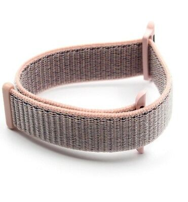 Apple Watch series 1/2/3 pure nylon pink sand band 38mm 42mm