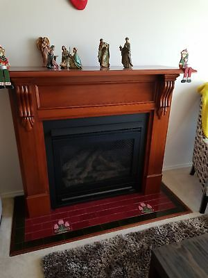 Heat n Glo Gas Fireplace in  good used  condition