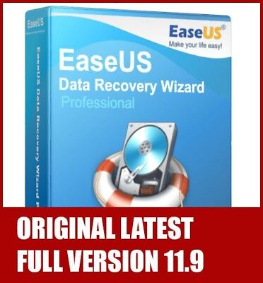 EaseUS Data Recovery Wizard Professional FULL License - Latest Version ORIGINAL