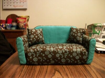 """Small bearded Dragon Couch 5"""" x 10"""" x 4.5"""" HOMEMADE Brand New"""