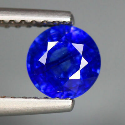 1.19 Cts_Top Breathtaking Round Brilliant Cut_100 % Natural Royal Blue Sapphire