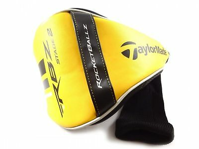 GOLF Headcover -TaylorMade RBZ Rocketballz Stage 2 Black/Yellow Driver Headcover