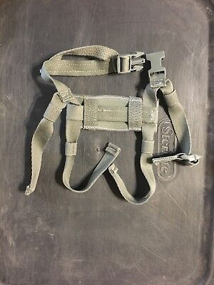 USGI HELMET CHIN STRAP ACH MICH Helmet 4-Point Retention . Foliage Green
