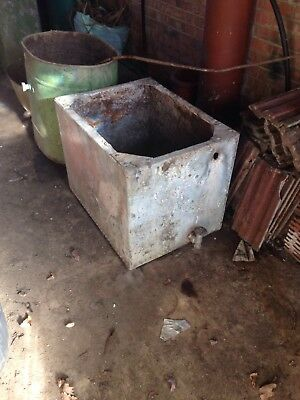 Very Large Vintage Water Tank Reduced In Price