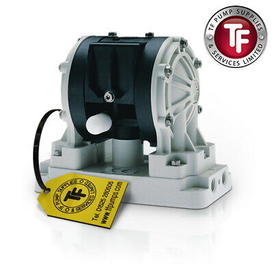 "1/4"" Graco Husky 205 / AT06/VA06 Air Diaphragm Pump ATEX (poly/PTFE) - D12091"