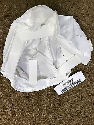 OVERWHITE HELMET COVER**Current U.S. Military Issue for Mich/ACH w/IR Tabs**Med.