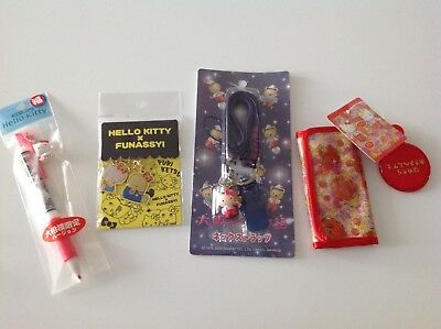 Sanrio Hello Kitty collectables - Pacer, Keychain, Lanyard & Key holder wallet