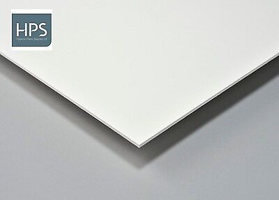 8 x 4 x 2mm solid PVC Hygienic Cladding Plastic wall sheets in white