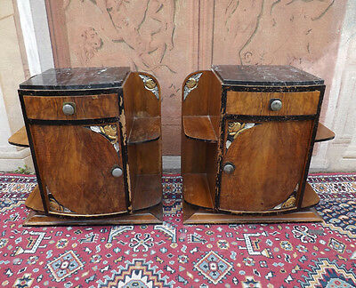 Art Deco couple of bedside wonderful design XX sec contact us for shipping