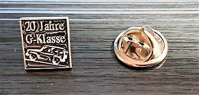 Mercedes Benz Pin Clase-G 20 Años 10x11mm