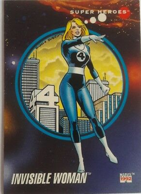 1992 Impel Marvel Universe Series 3 #34 Invisible Woman