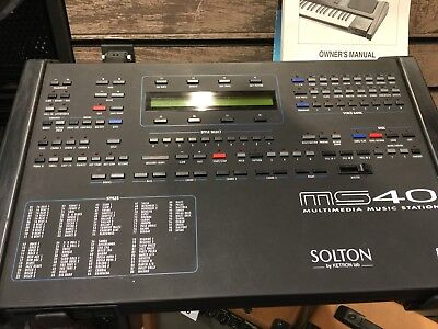 Solton Ms40 Keyboard Expander Module In Good Condition With Manual And Cable