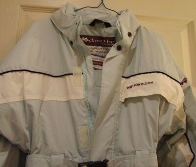 Girls ski suit Dare2be blue size age 9-10 years BNWOT!